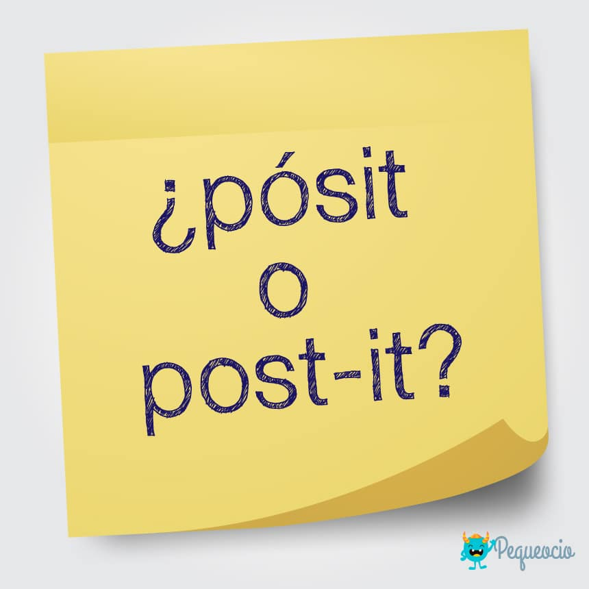 Pósit o post-it