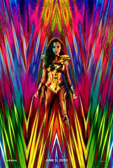 Wonder Woman 1984 cartel estreno