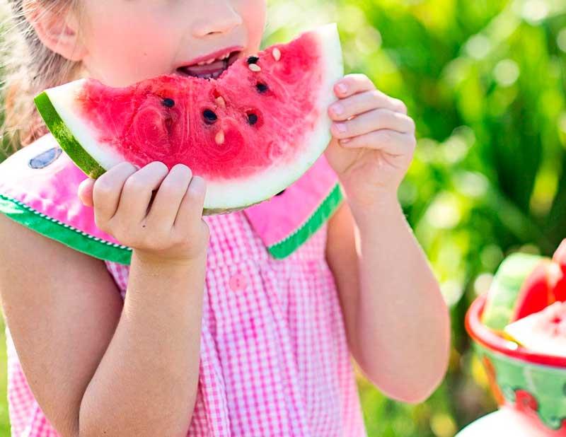 alimentación sana para niños