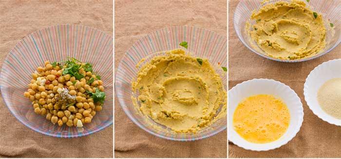 Cómo hacer falafel con salsa de yogur 1