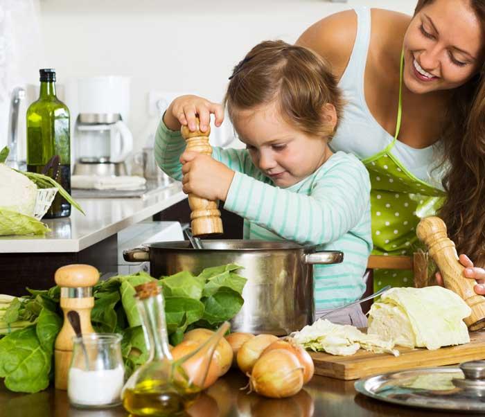 7 consejos para que los niños coman de forma saludable 2