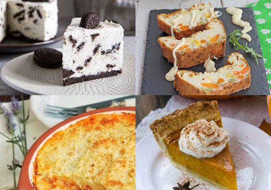 Pasteles recetas dulces y saladas