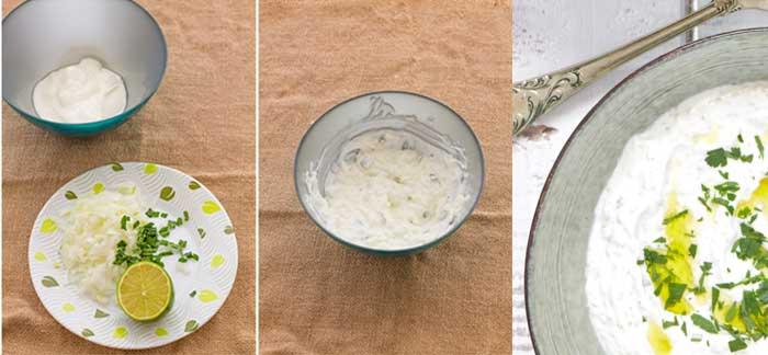 Cómo hacer falafel con salsa de yogur 3