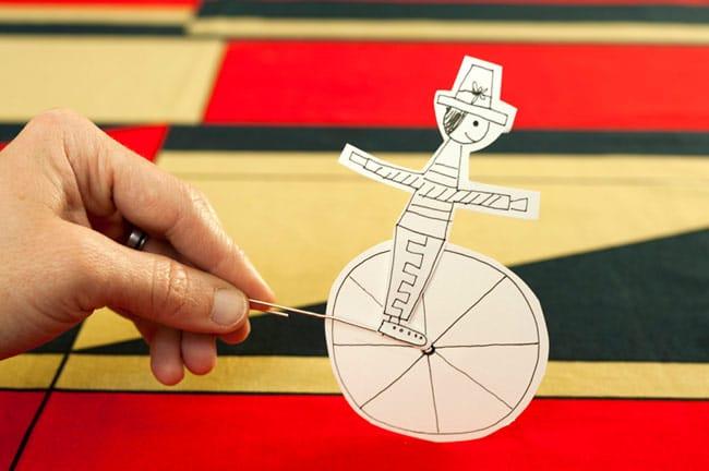 juego para imprimir circo