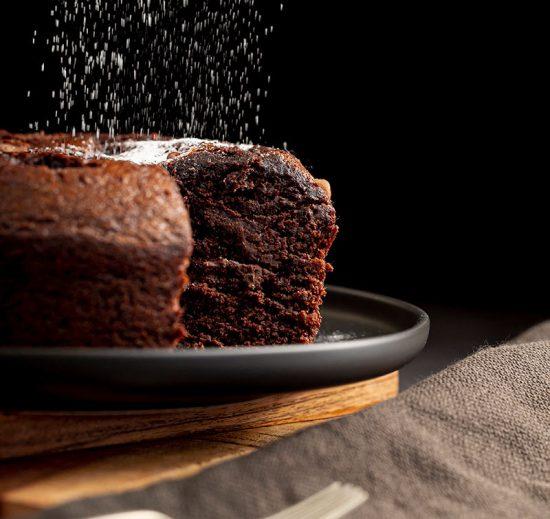 Receta fácil de bizcocho de chocolate