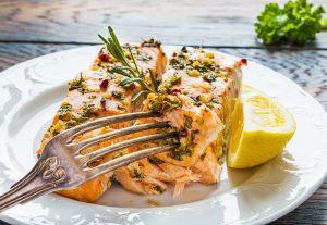 Receta salmón al horno