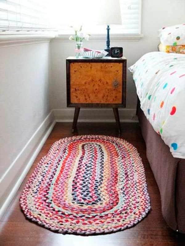 Cómo hacer alfombras de trapillo