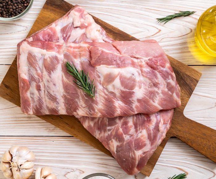 Costillas de cerdo al horno (glaseadas con miel) 1
