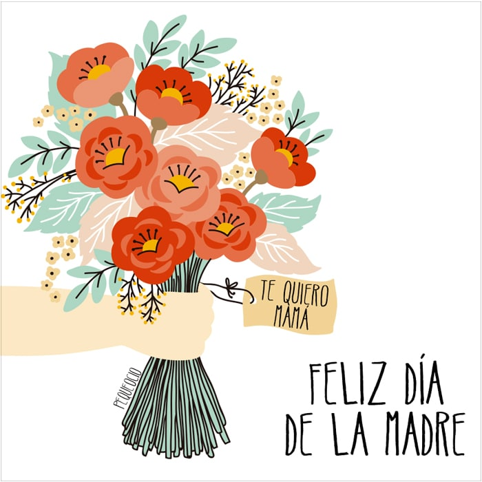 FELIZ DÍA DE LA MADRE (10 imágenes bonitas para FELICITAR A MAMÁ) 3
