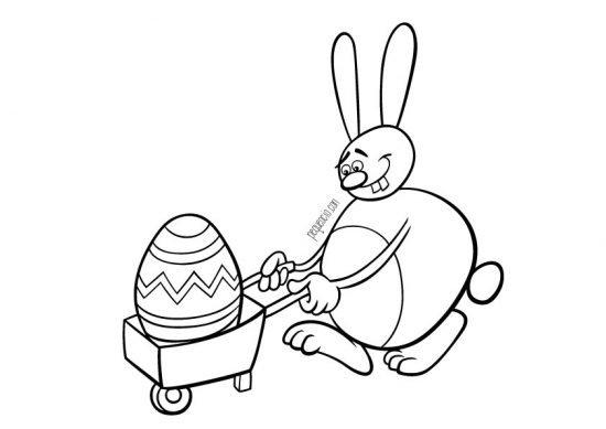 Dibujos para pintar de Pascua