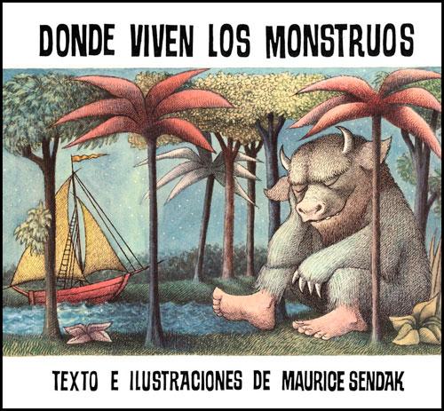 libro para niños Donde viven los monstruos