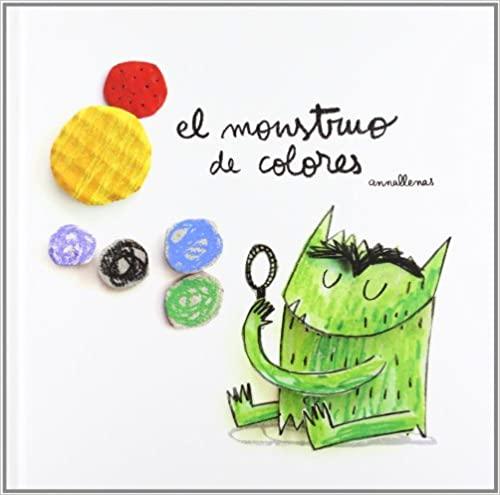El monstruo de colores libro para niños pequeños