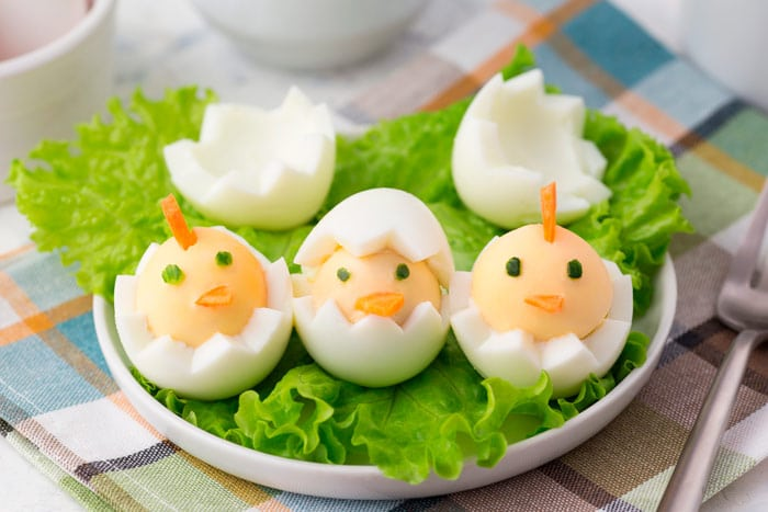 4 recetas de Huevos de Pascua originales 1