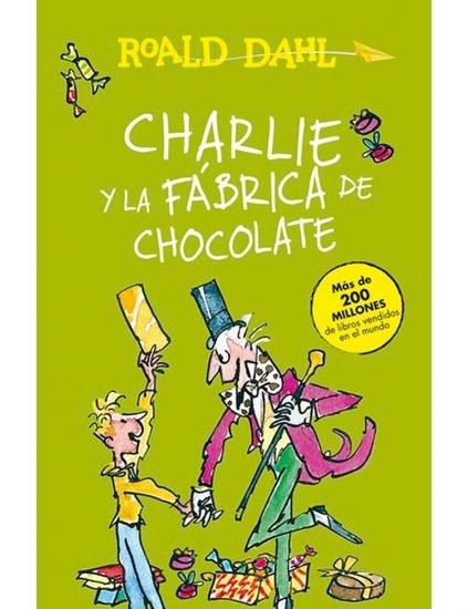 libro infantil Charlie y la fabrica de chocolate