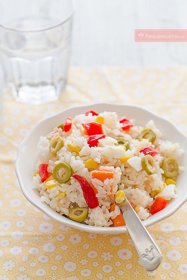 Ensalada de arroz (10 recetas saludables) 3