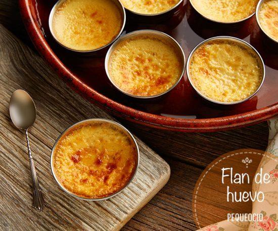 Flan de huevo casero (receta tradicional) 4