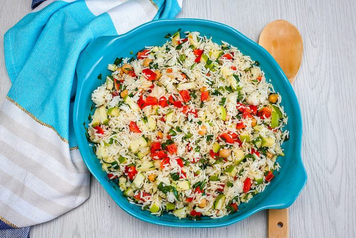 Receta ensalada arroz