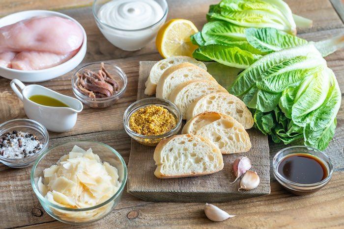 Salsa César ingredientes