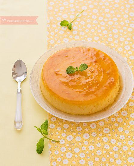 Flan de huevo casero (receta tradicional) 5