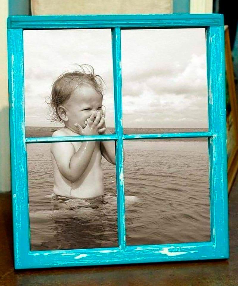 marcos de fotos reciclados manualidades