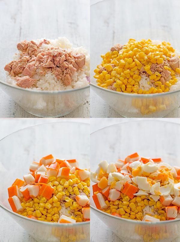 Ensalada de arroz (10 recetas saludables) 2