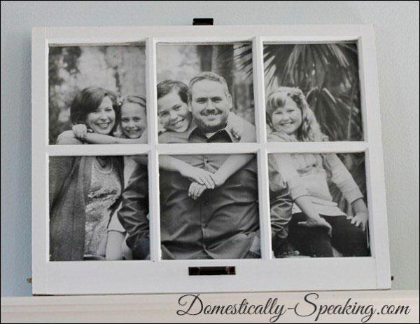 Marcos de fotos caseros para hacer junto a tus hijos 2