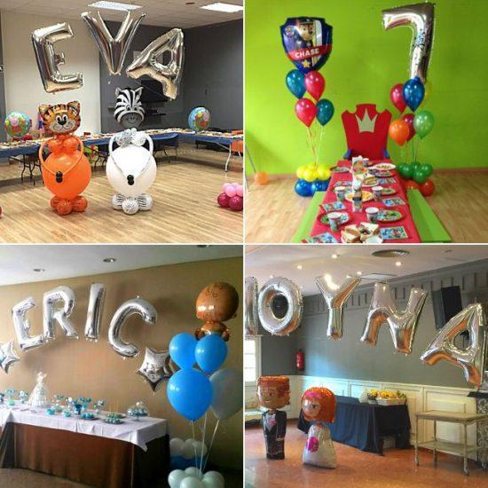 Cómo decorar con GLOBOS tus fiestas de forma original 1