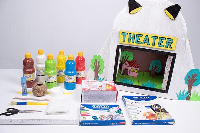 cómo hacer un teatrillo infantil