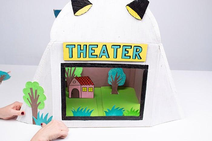 Cómo hacer un teatrillo infantil 4