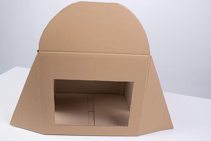 Teatrillo para niños con caja
