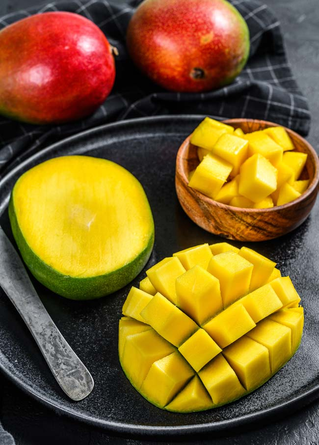 Mango Lassi o batido de mango 2