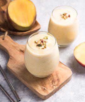 Mango Lassi o receta india de batido de mango