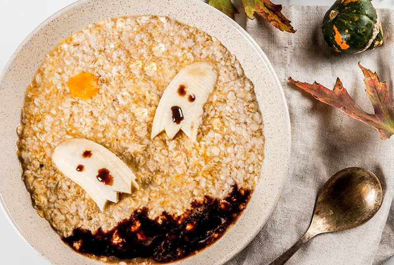 Desayunos sanos Halloween