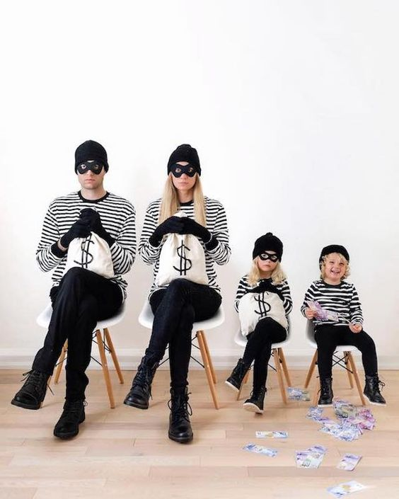 Disfraces para familias