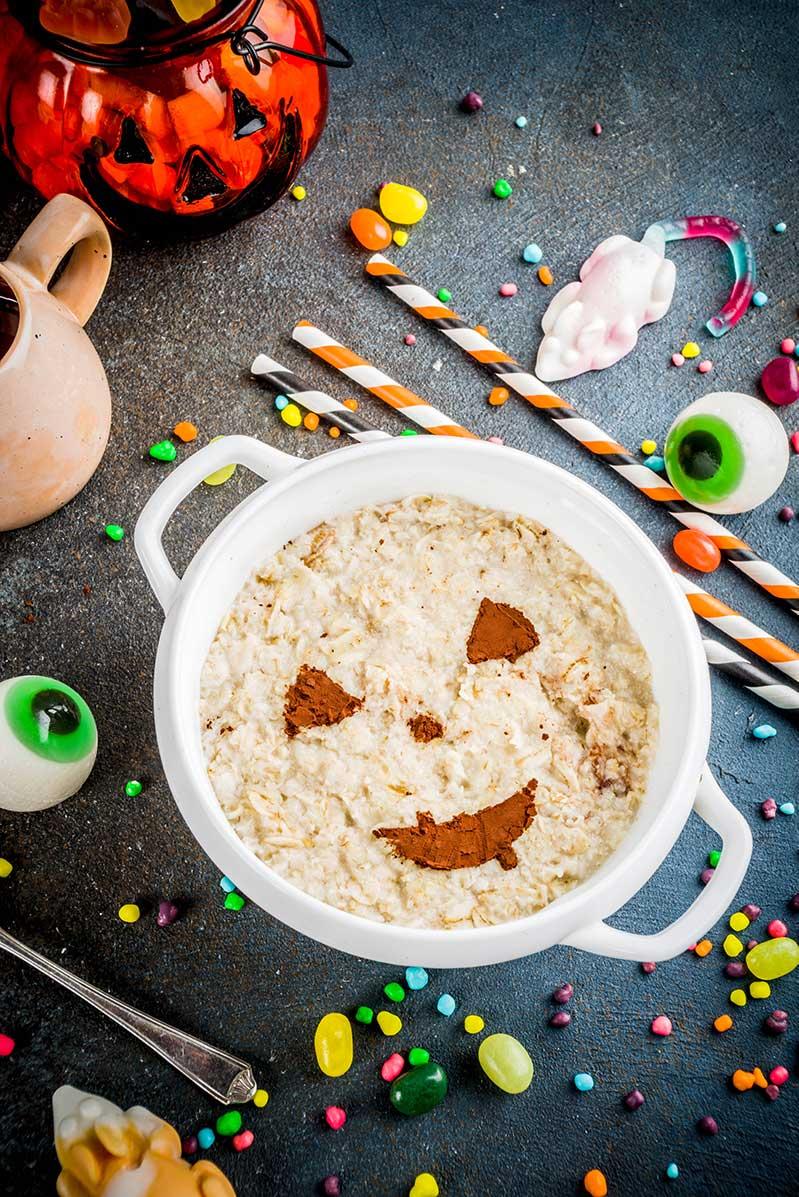 Recetas saludables Halloween