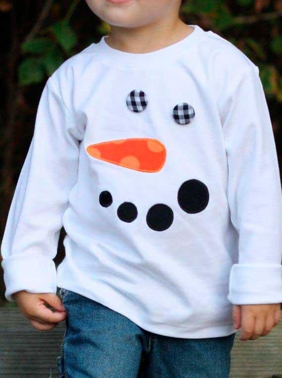 DIY: Cómo convertir un jersey para niño en un jersey navideño 3