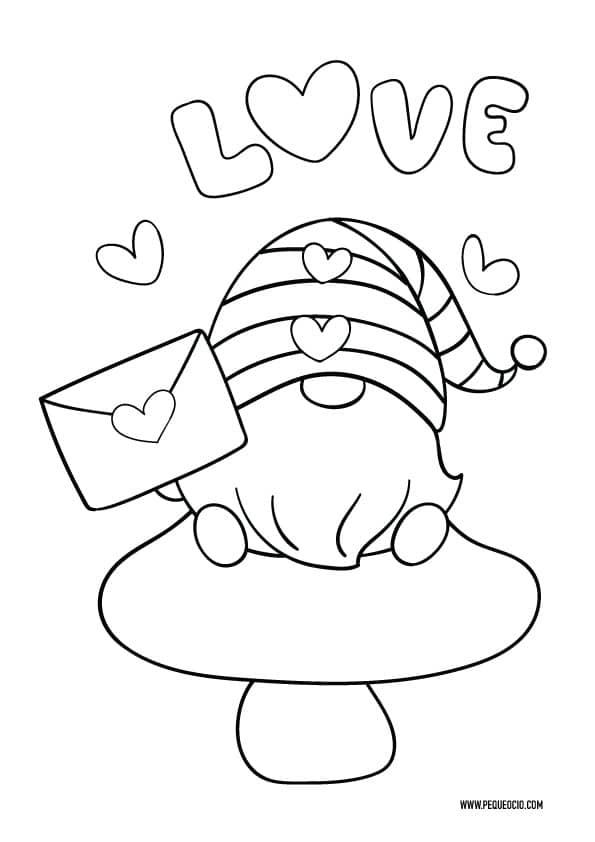 Dibujos originales de San Valentín