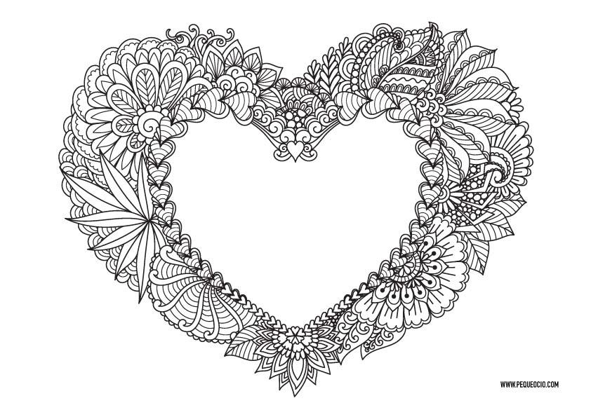 Mandalas de San Valentín