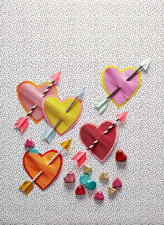 Manualidades infantiles para San Valentín