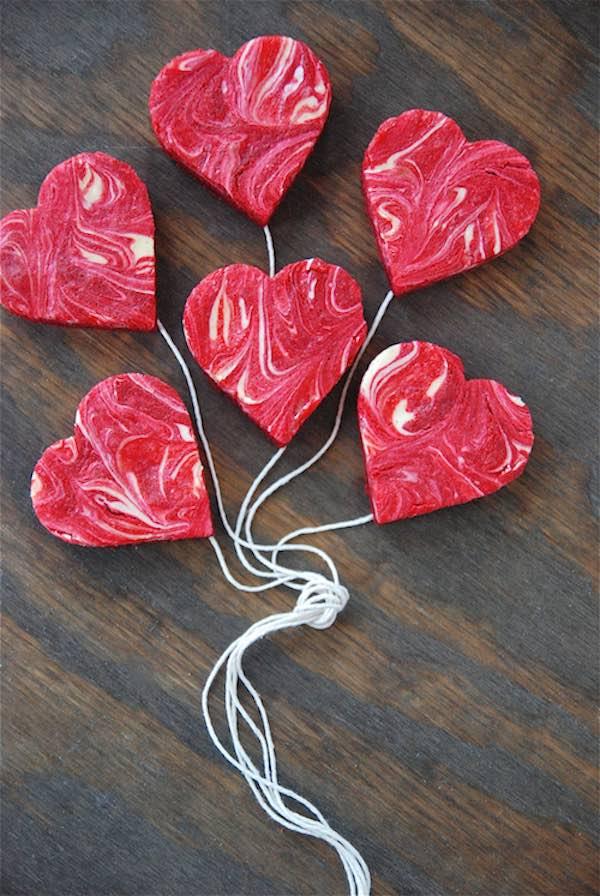 Recetas dulces de San Valentín