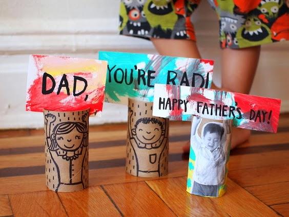 Manualidades recicladas para el Día del Padre