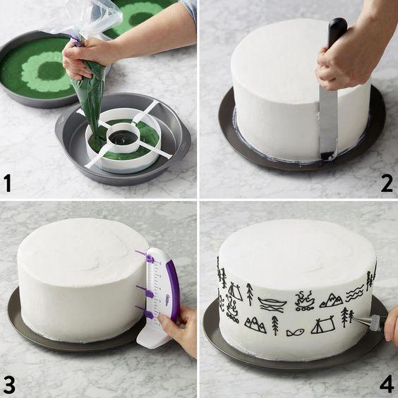 Cómo hacer una tarta para el Día del Padre