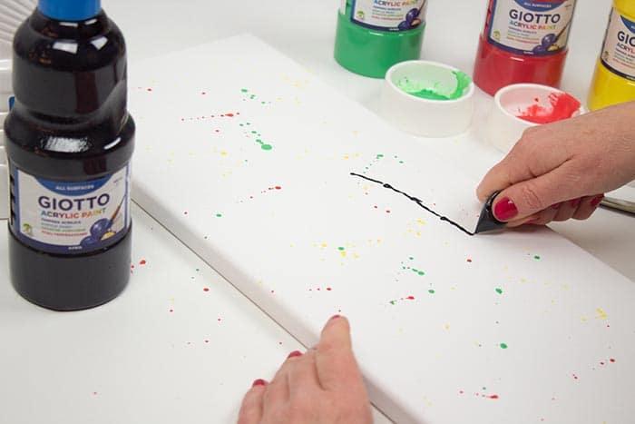Cuadros estilo pouring (técnica pouring paso a paso) 3