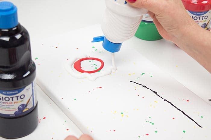 Cuadros estilo pouring (técnica pouring paso a paso) 4