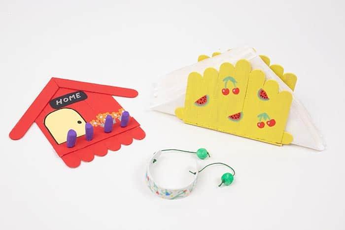 manualidades con palos de helado