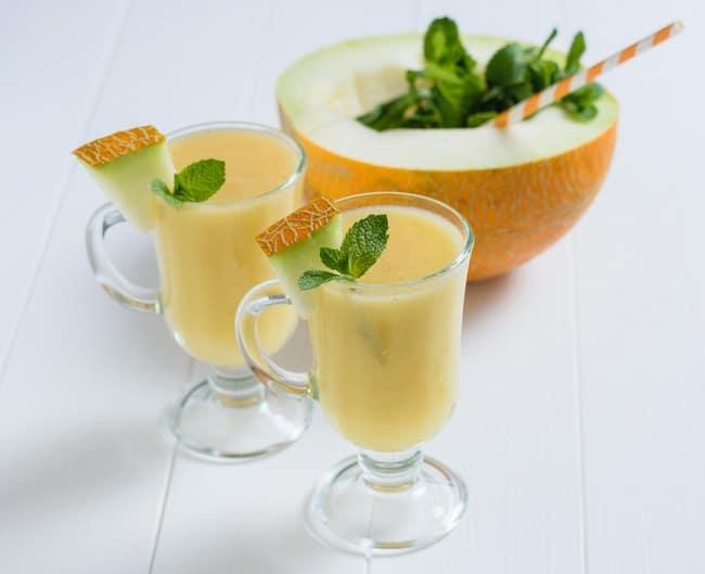 smoothie de melón receta