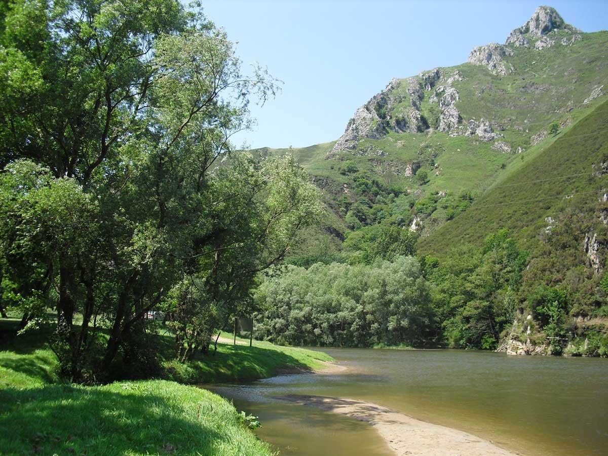 descenso del rio Sella en familia con niños