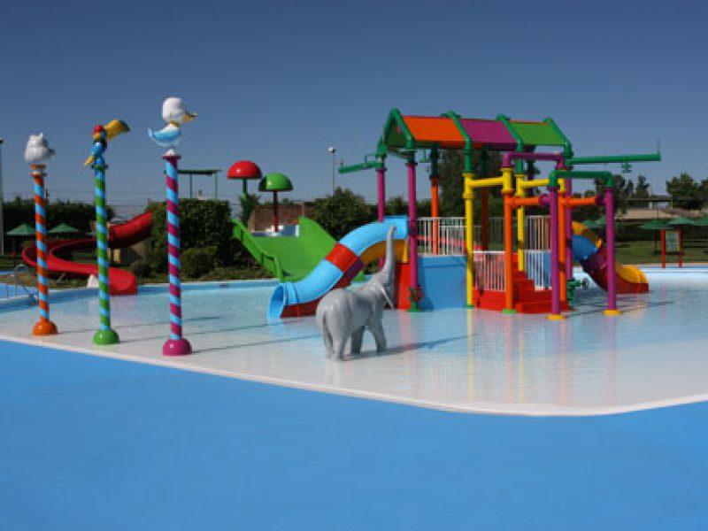 Parque infantil y acuático en Extremadura
