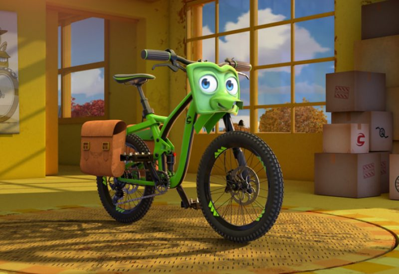 bikes pelicula animacion
