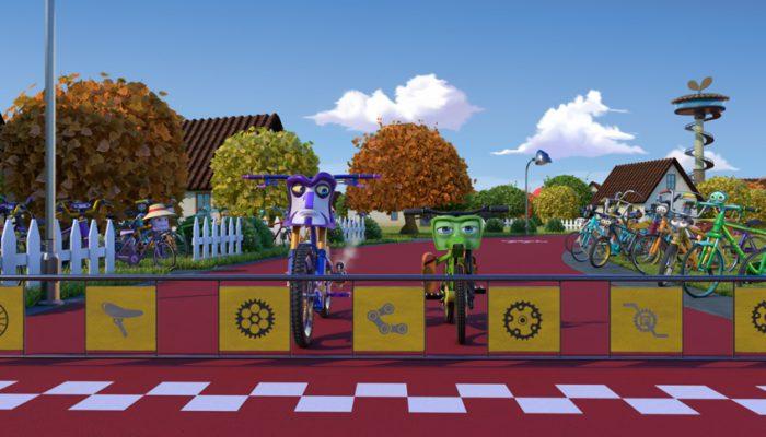 Bikes pelicula española animación